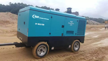 China Direct Diesel Driven Air Compressor Ingersoll Rand For Mineral Lubricated Oil supplier