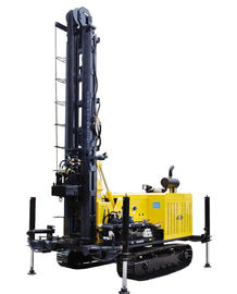 China 100m Depth Water Well Drilling Rig , Geothermal Drilling Rig Kw10 supplier