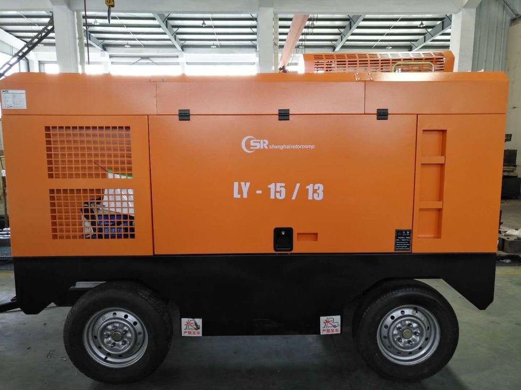 465Cfm 190Psi Diesel Rotary Screw Air Compressor