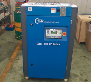 China Industrial VSD Screw Compressor 15kw , Belt Driven Air Compressor 50% Energy Saving distributor