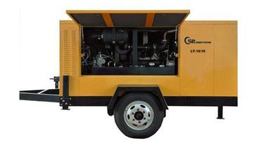 China 430Cfm 175Psi Diesel Screw Compressor Portable Double Stage High Pressure distributor