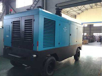 China Mineral Oil Diesel Screw Compressor , Diesel Engine Driven Portable Air Compressor factory