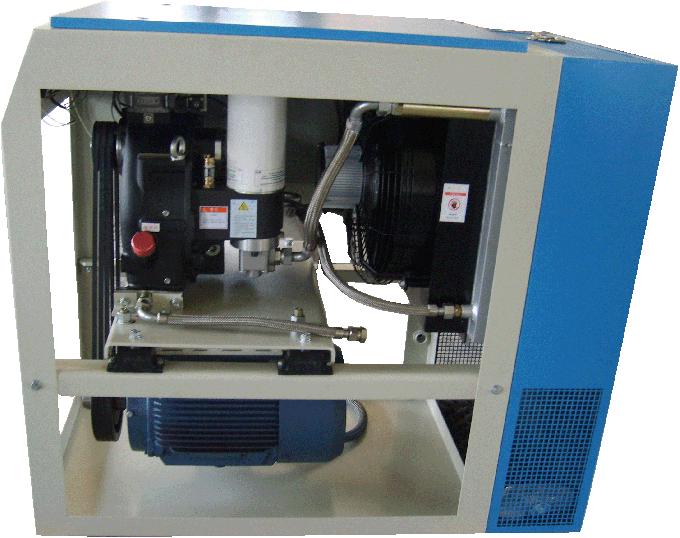 Rotorcomp Rotary Screw Type Compressor