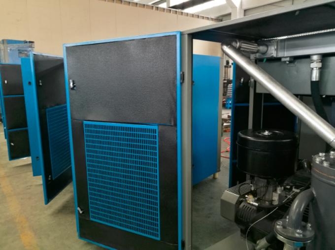 110kw screw air compressor german rotorcomp air end in TUV
